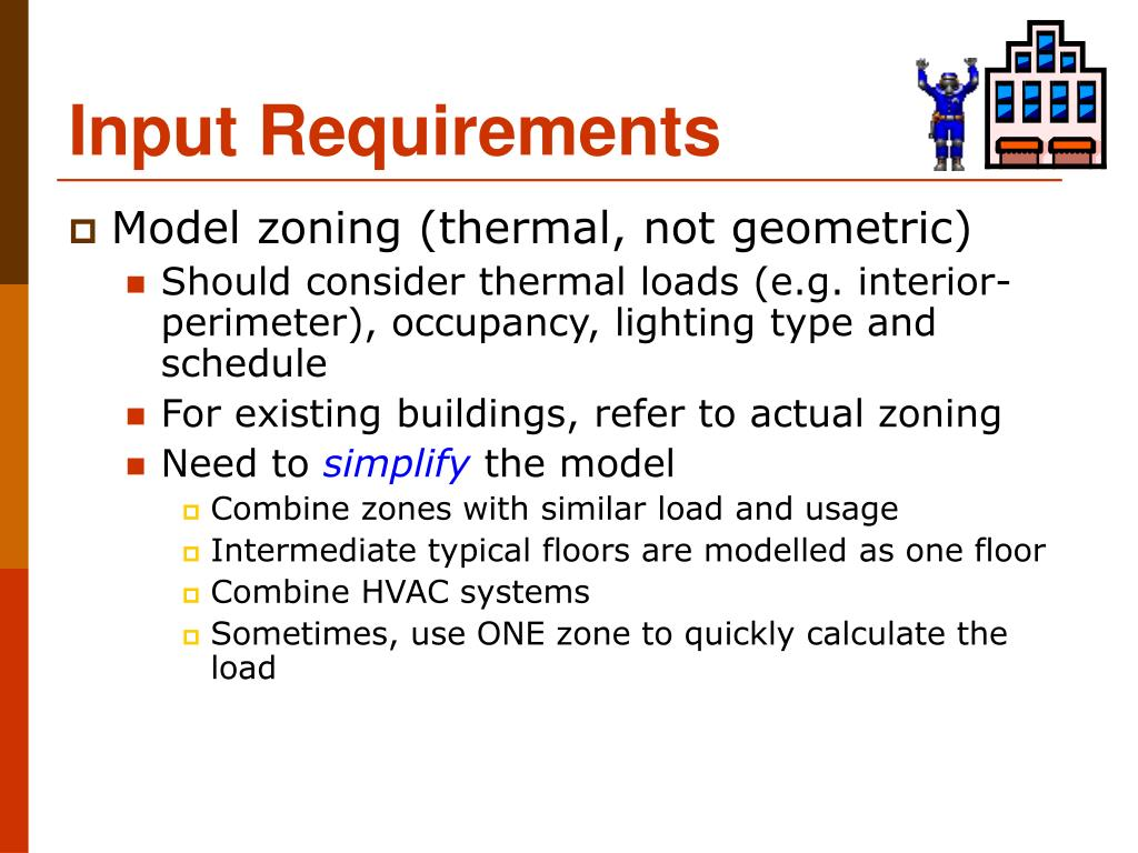 Input Requirements