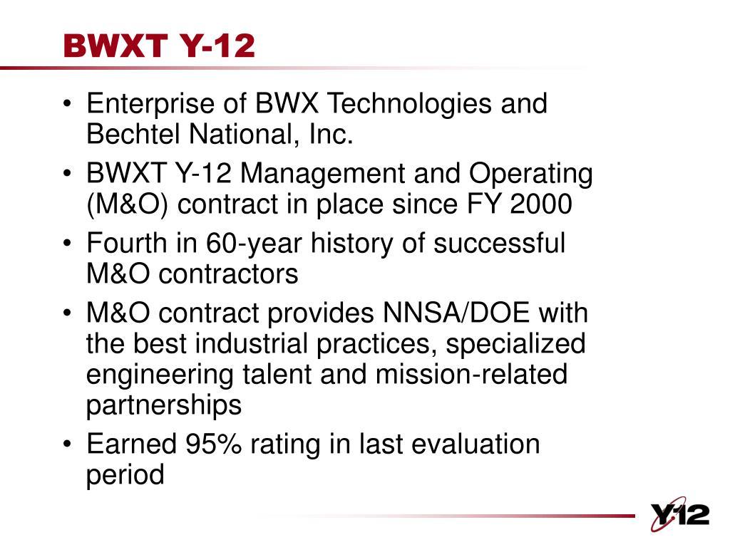 BWXT Y-12