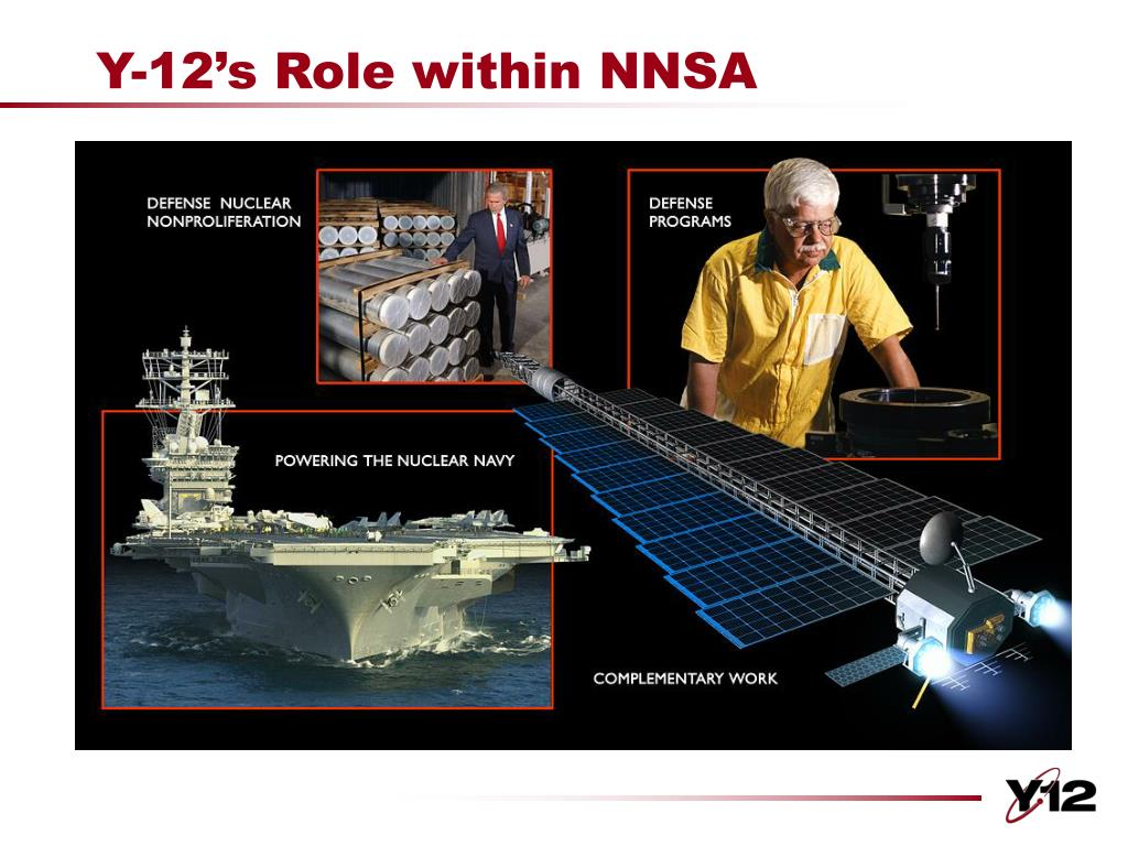 Y-12's Role within NNSA