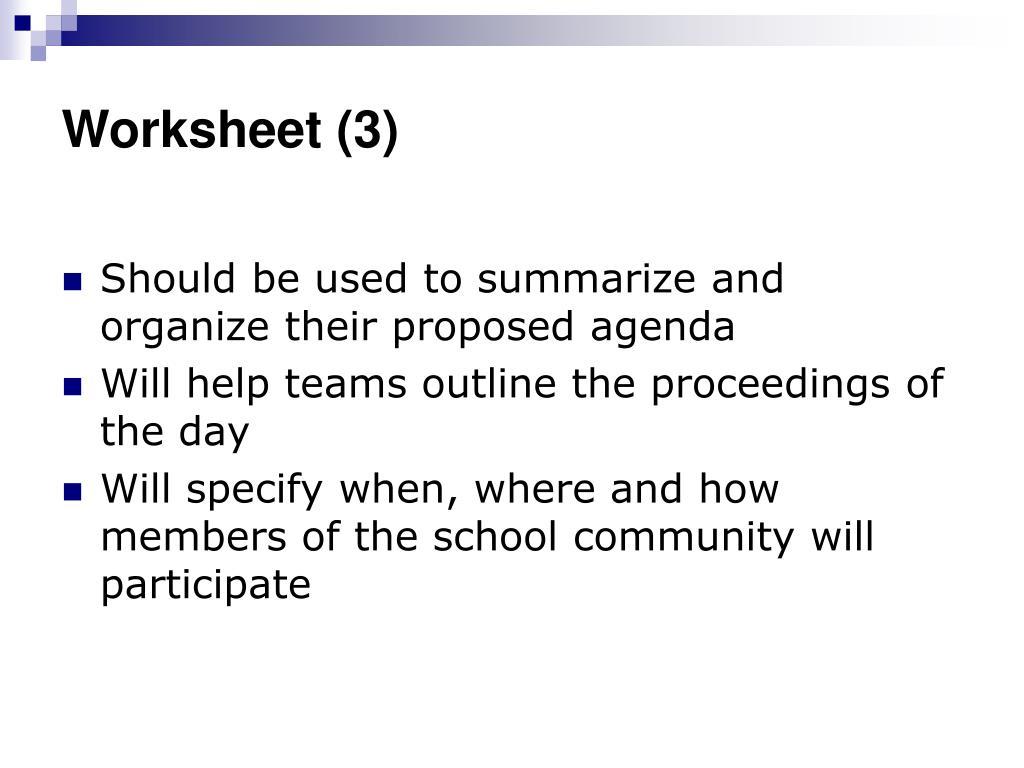 Worksheet (3)