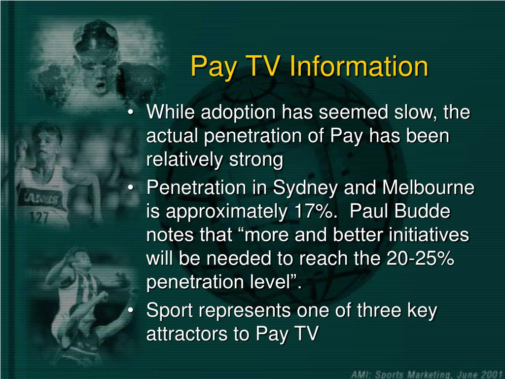 Pay TV Information