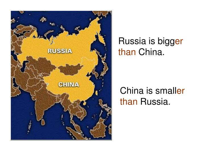 Russia is bigg