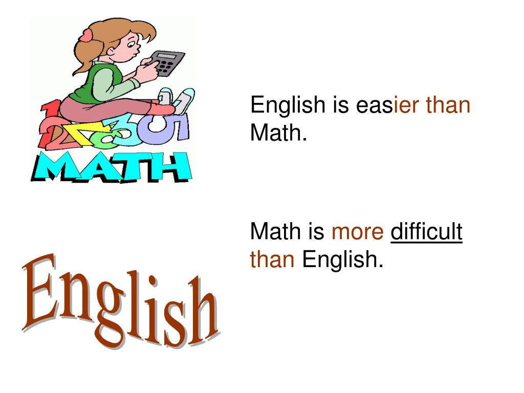 English is eas