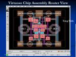 virtuoso chip assembly router view