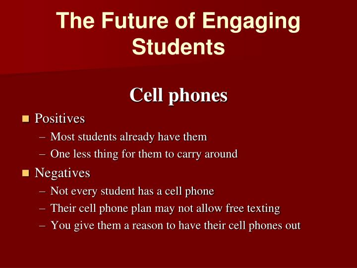 The Future of Engaging Students