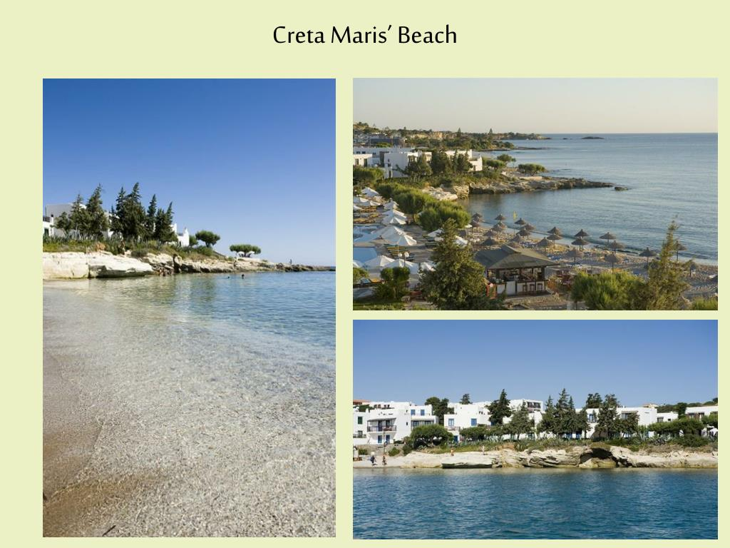 Creta Maris' Beach