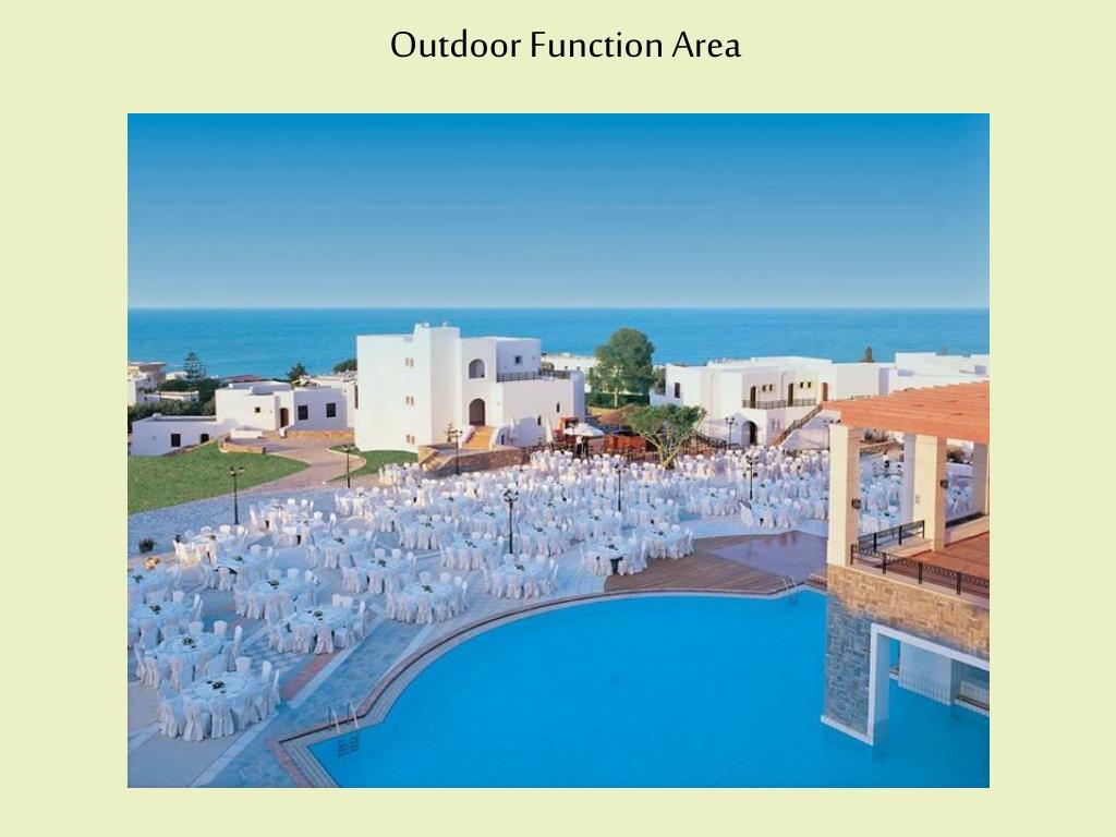 Outdoor Function Area