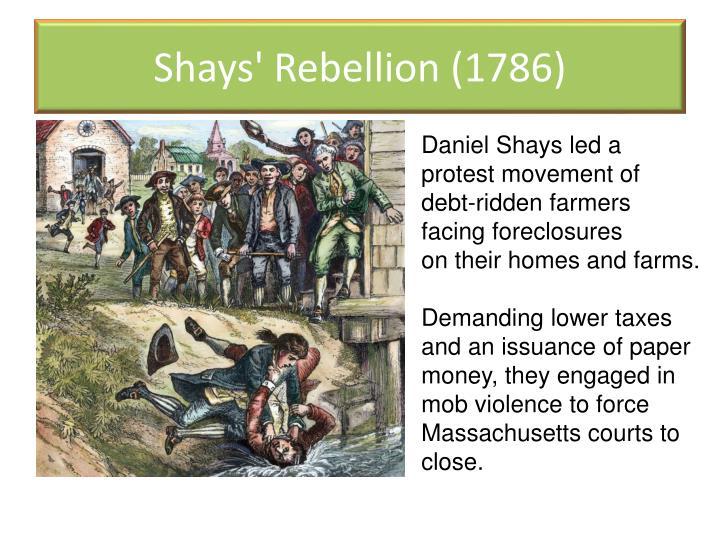 Shays' Rebellion (1786)