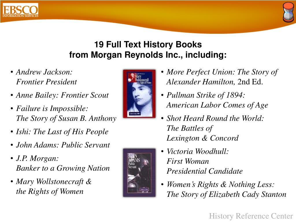 19 Full Text History Books