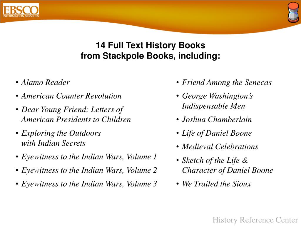 14 Full Text History Books