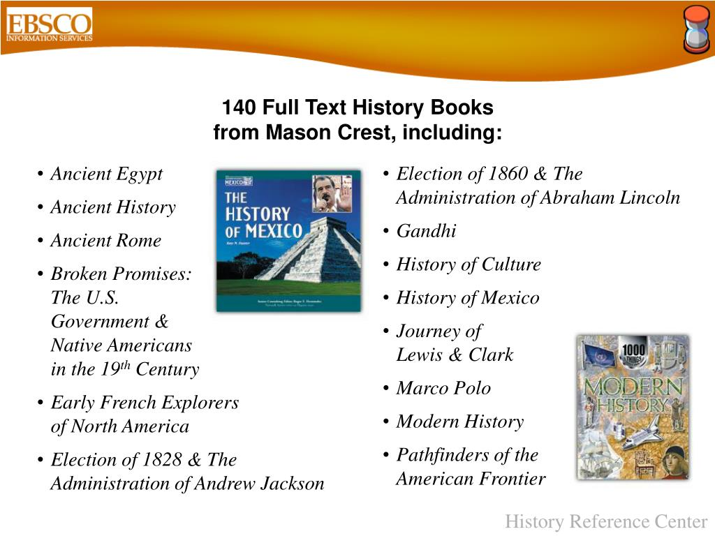 140 Full Text History Books