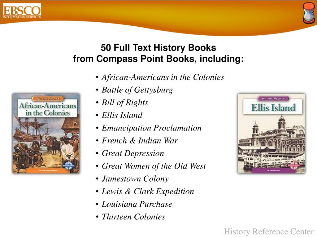 50 Full Text History Books