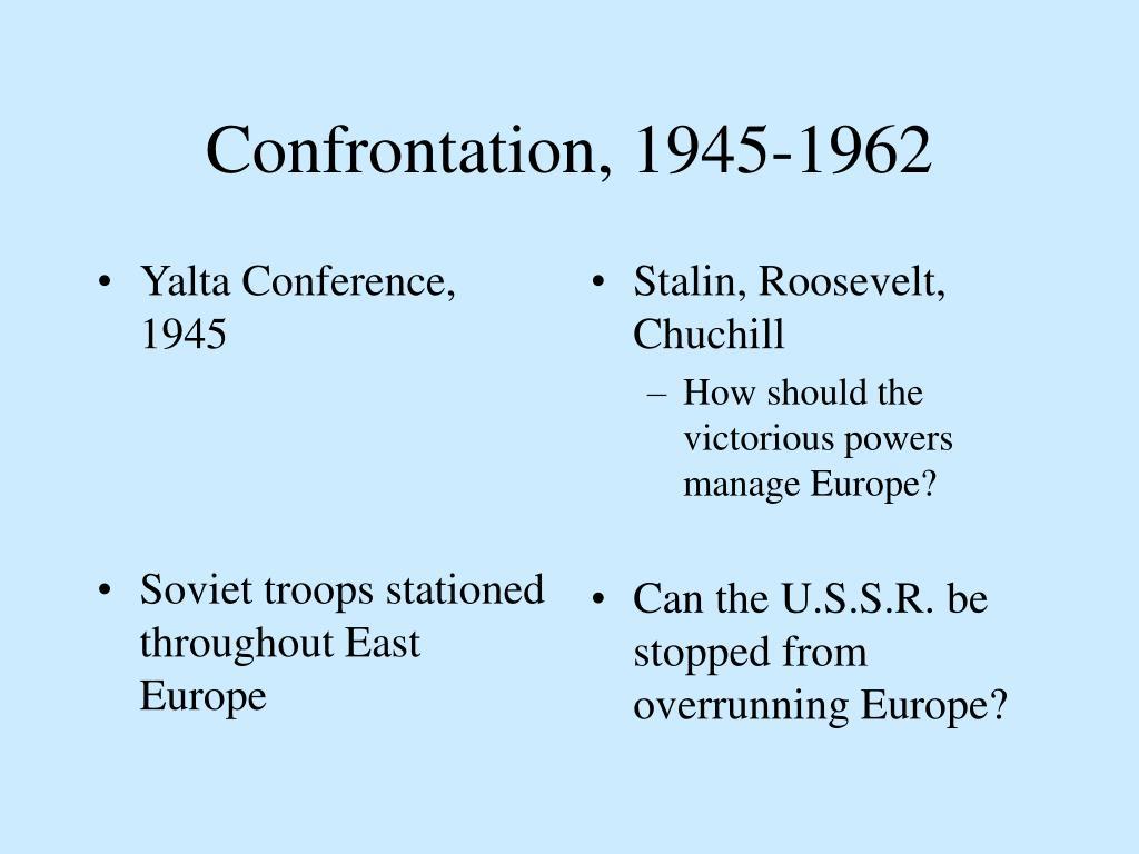 Yalta Conference, 1945