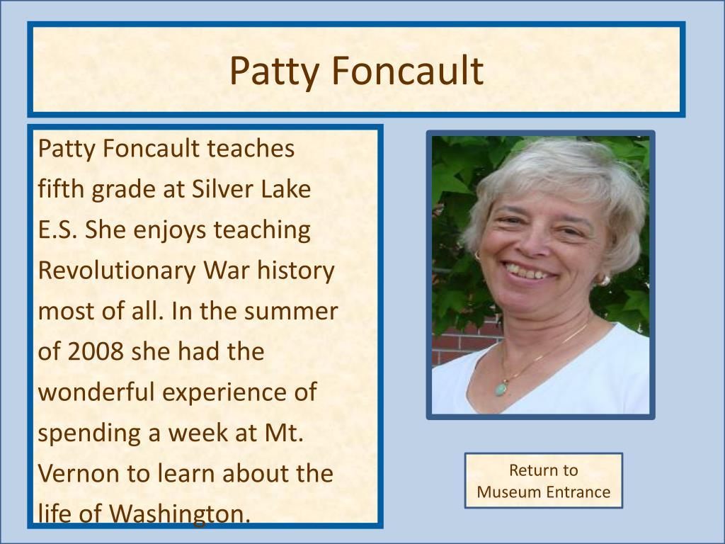Patty Foncault