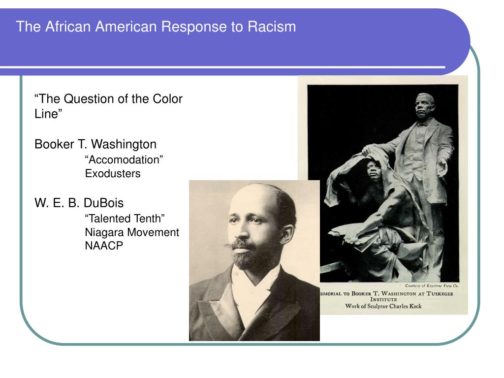The African American Response to Racism