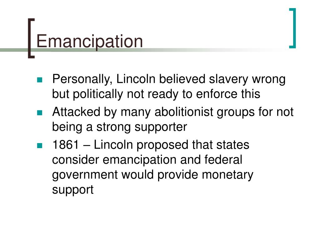 Emancipation