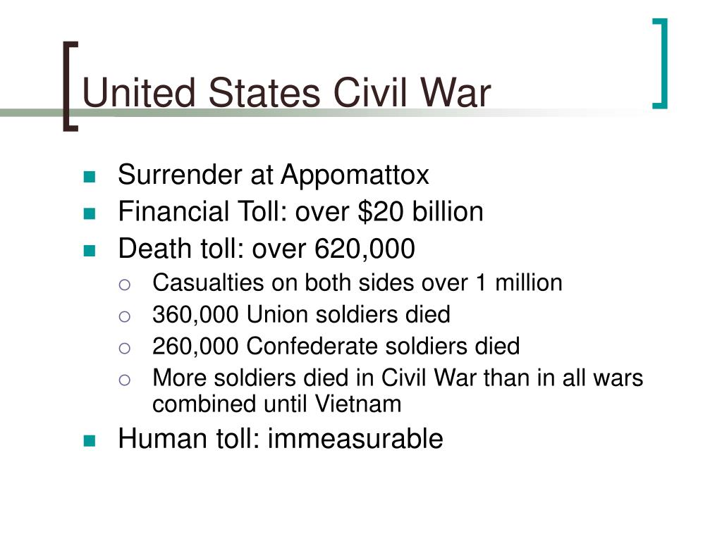 United States Civil War