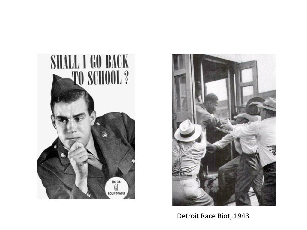 Detroit Race Riot, 1943