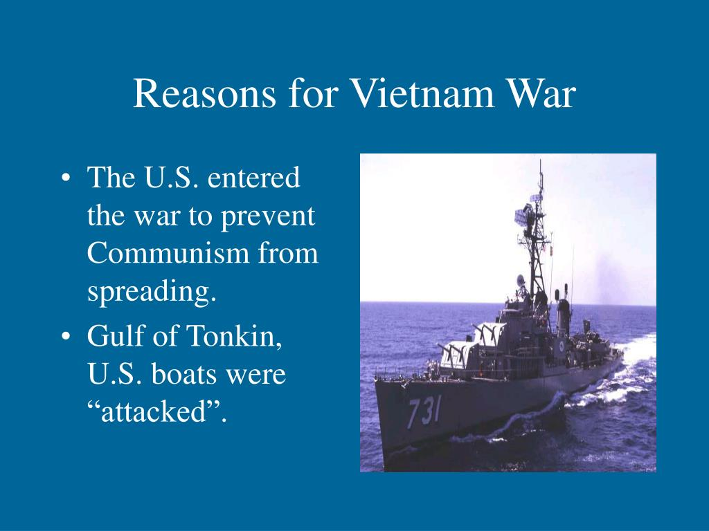 Reasons for Vietnam War