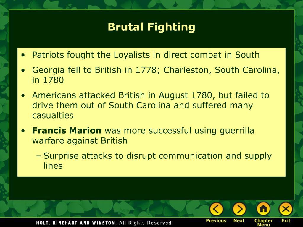 Brutal Fighting