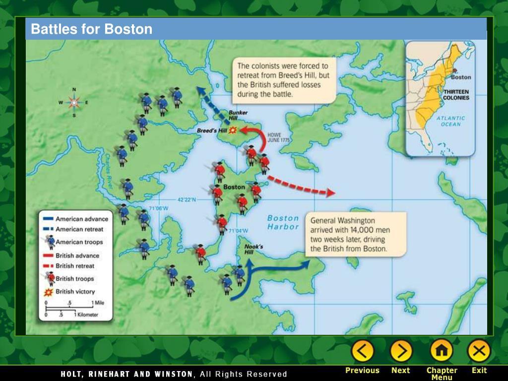 Battles for Boston