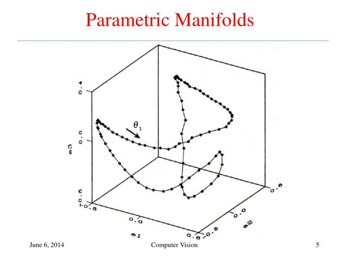 Parametric Manifolds