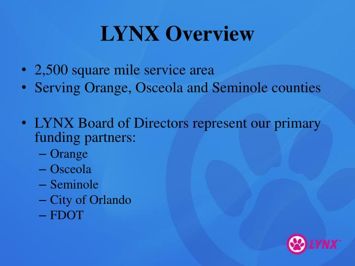 LYNX Overview