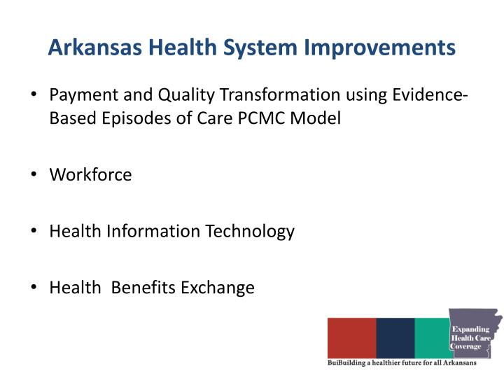 Arkansas health system improvements