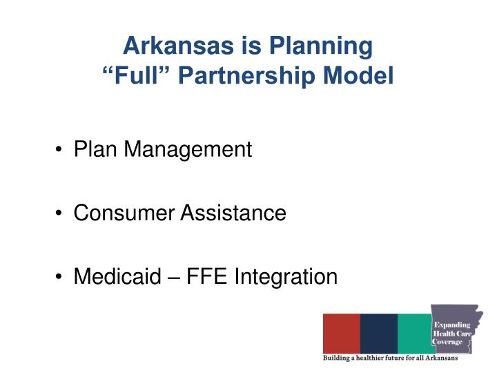 Arkansas is Planning