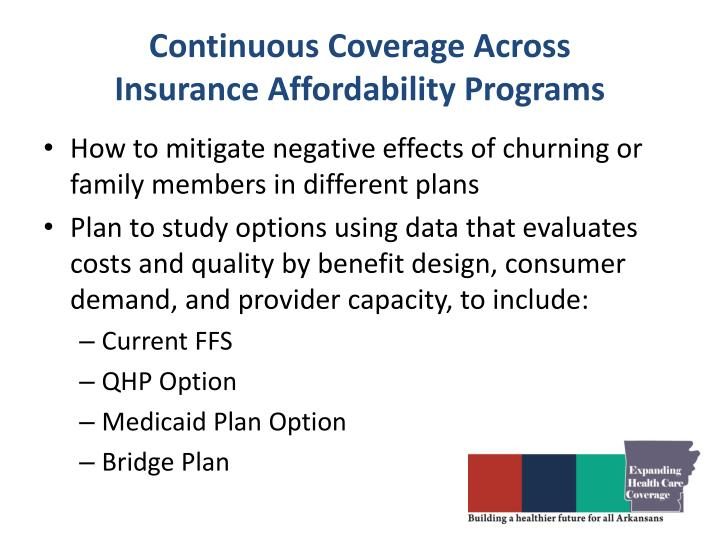 Continuous Coverage Across