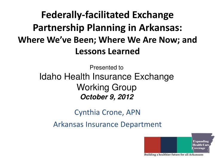 Federally-facilitated Exchange