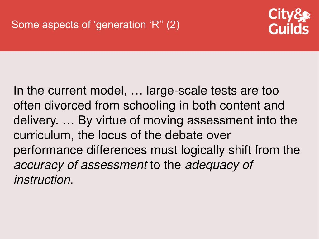 Some aspects of 'generation 'R'' (2)