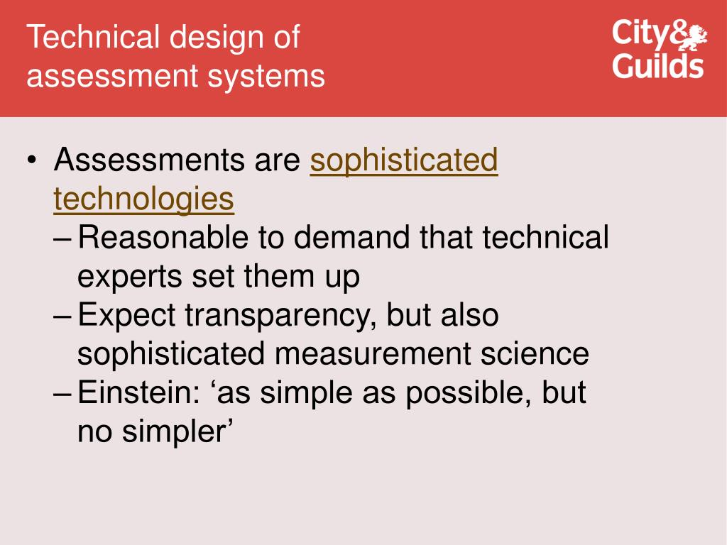 Technical design of