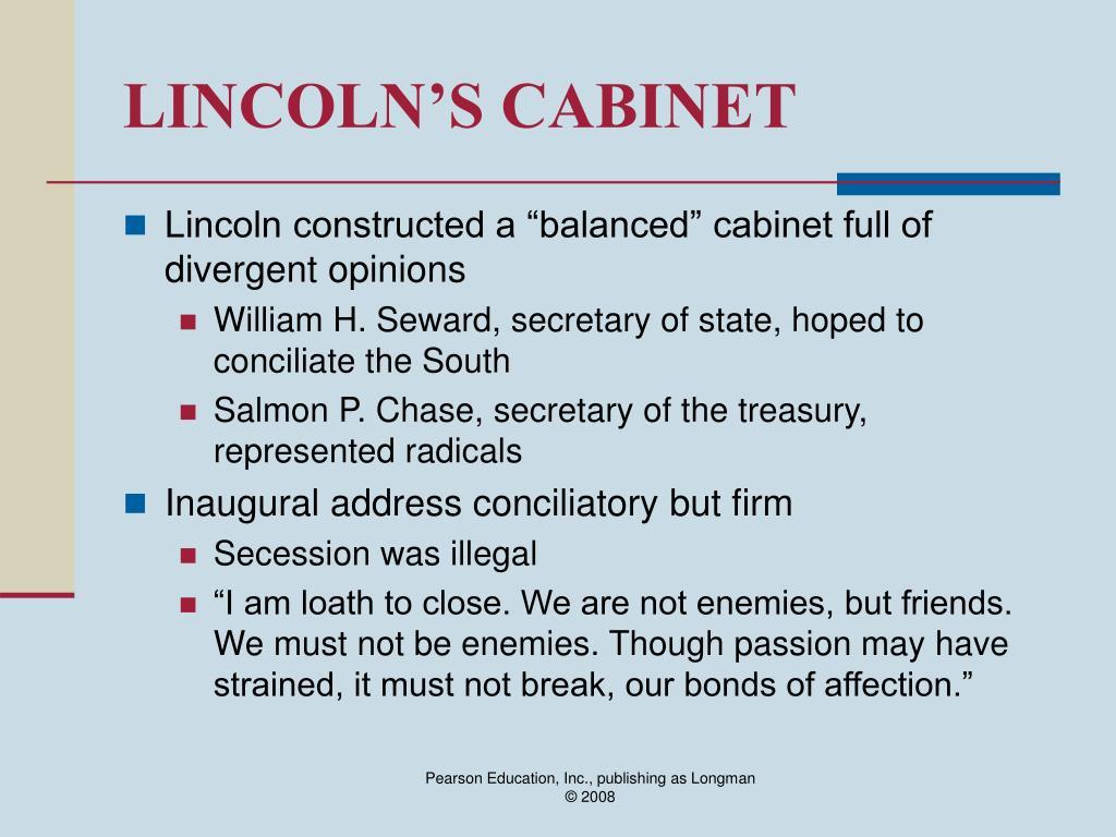 LINCOLN'S CABINET