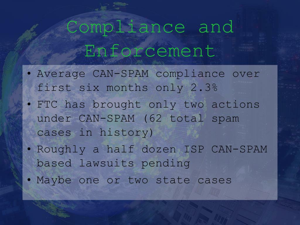 Compliance and Enforcement