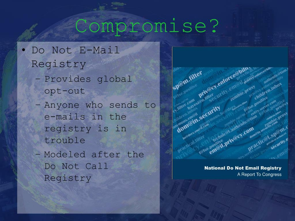 Compromise?