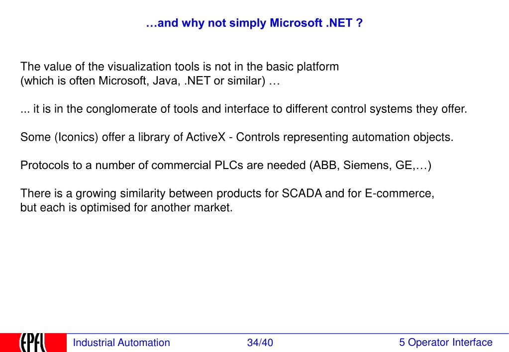 …and why not simply Microsoft .NET ?
