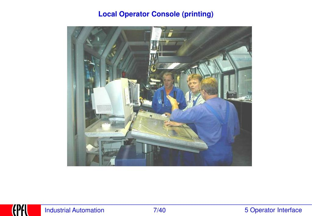 Local Operator Console (printing)