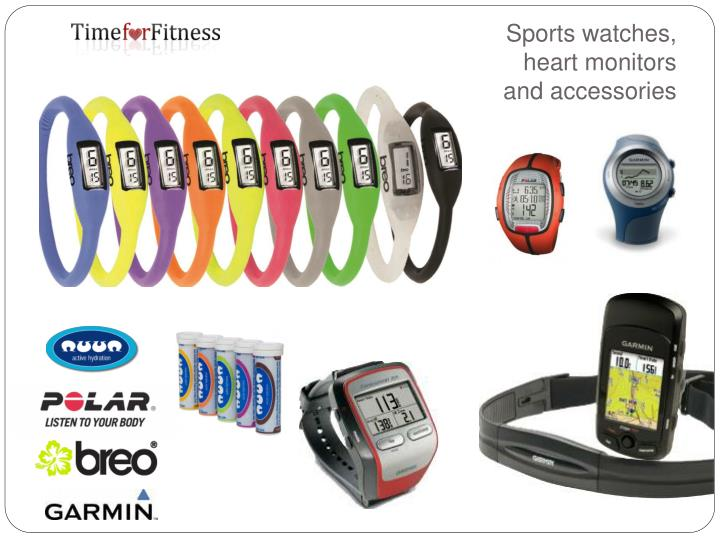 Sports watches,