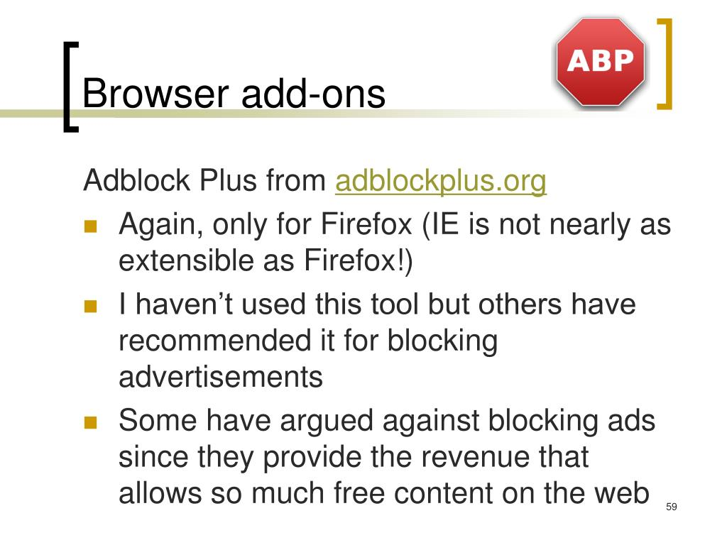Browser add-ons