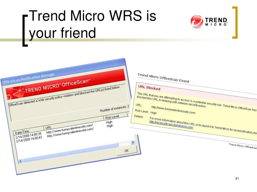 Trend Micro WRS is