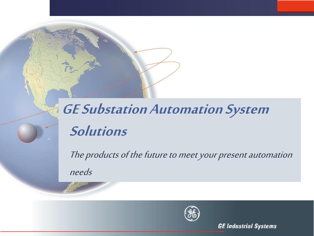 GE Substation Automation System Solutions