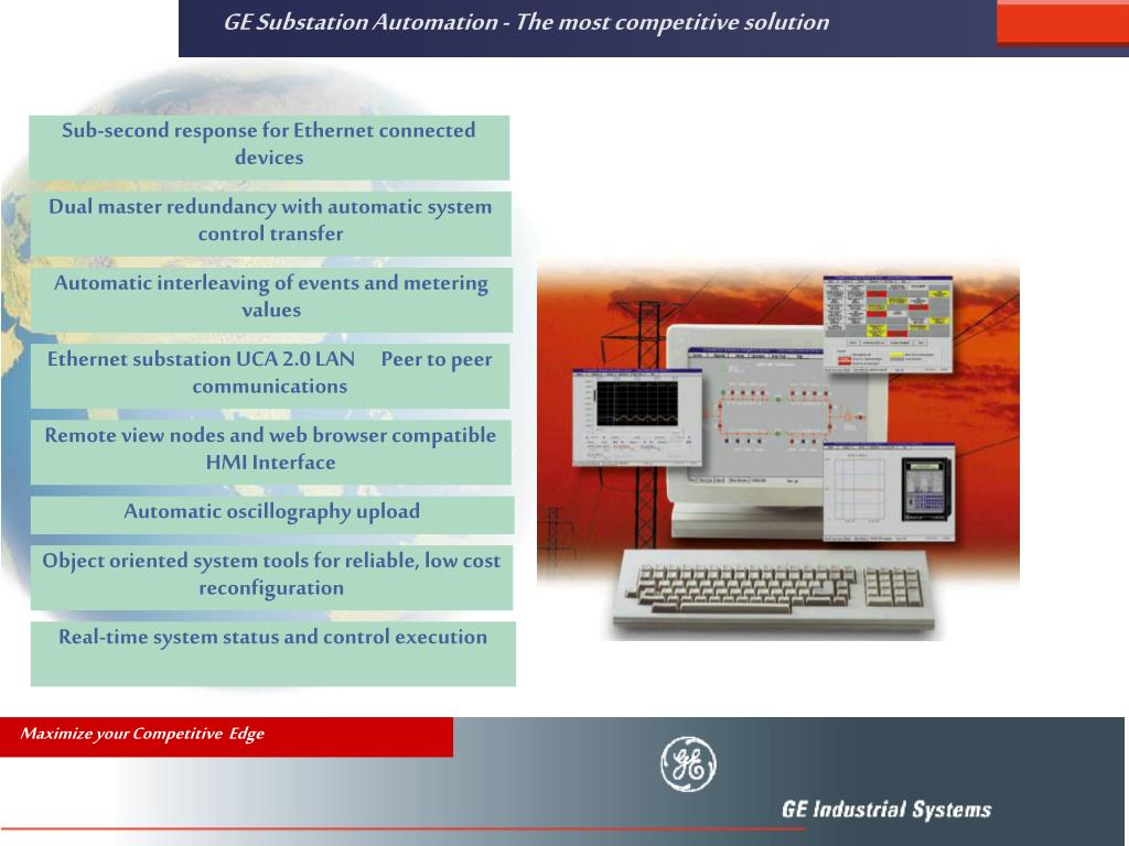 GE Substation Automation - The most competitive solution