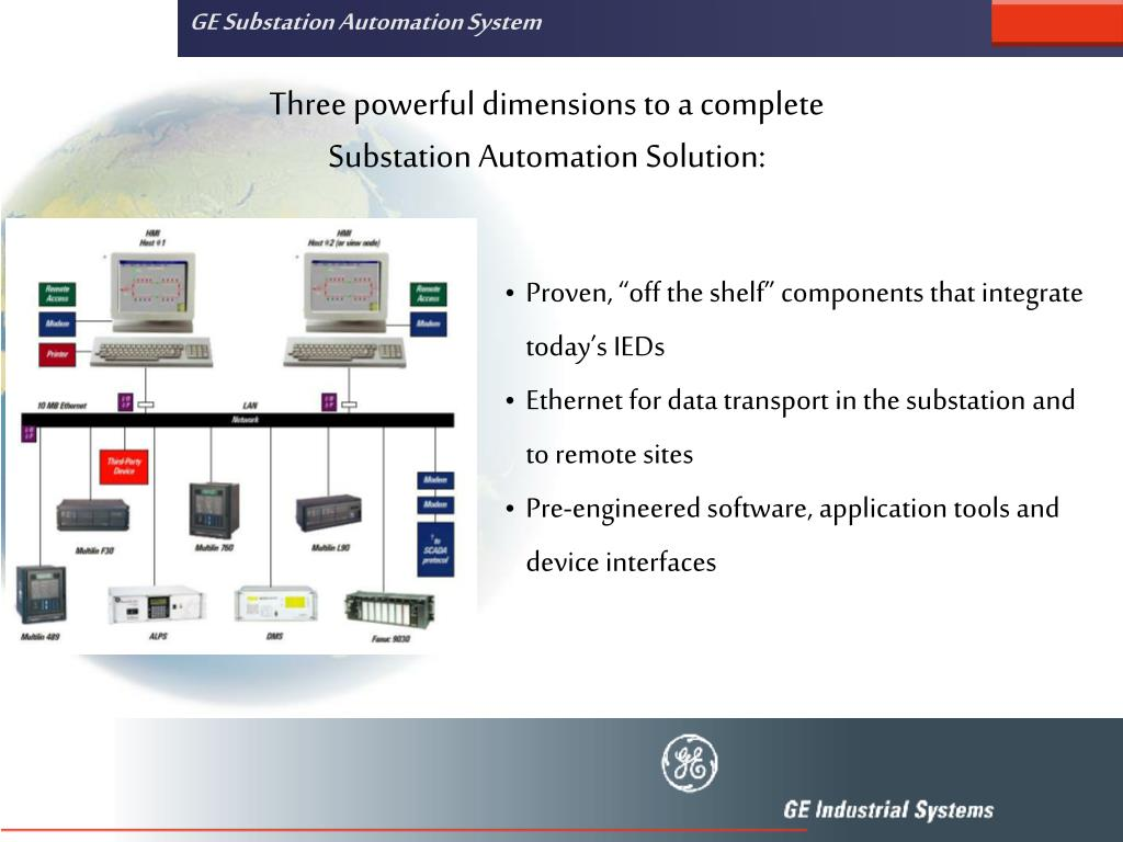 GE Substation Automation System