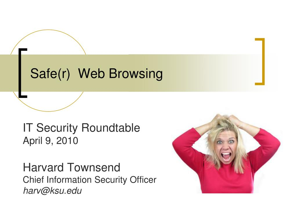 Safe(r)  Web Browsing