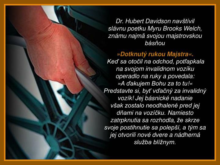 Dr. Hubert Davidson