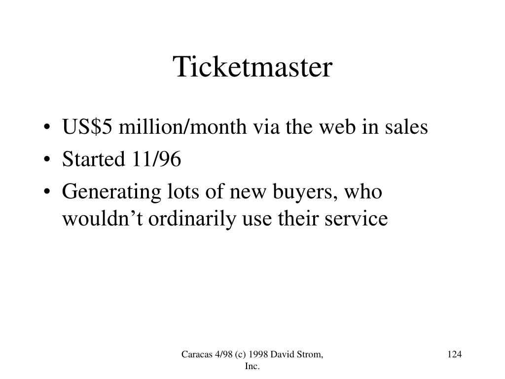 US$5 million/month via the web in sales