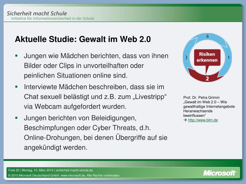 Aktuelle Studie: Gewalt im Web 2.0