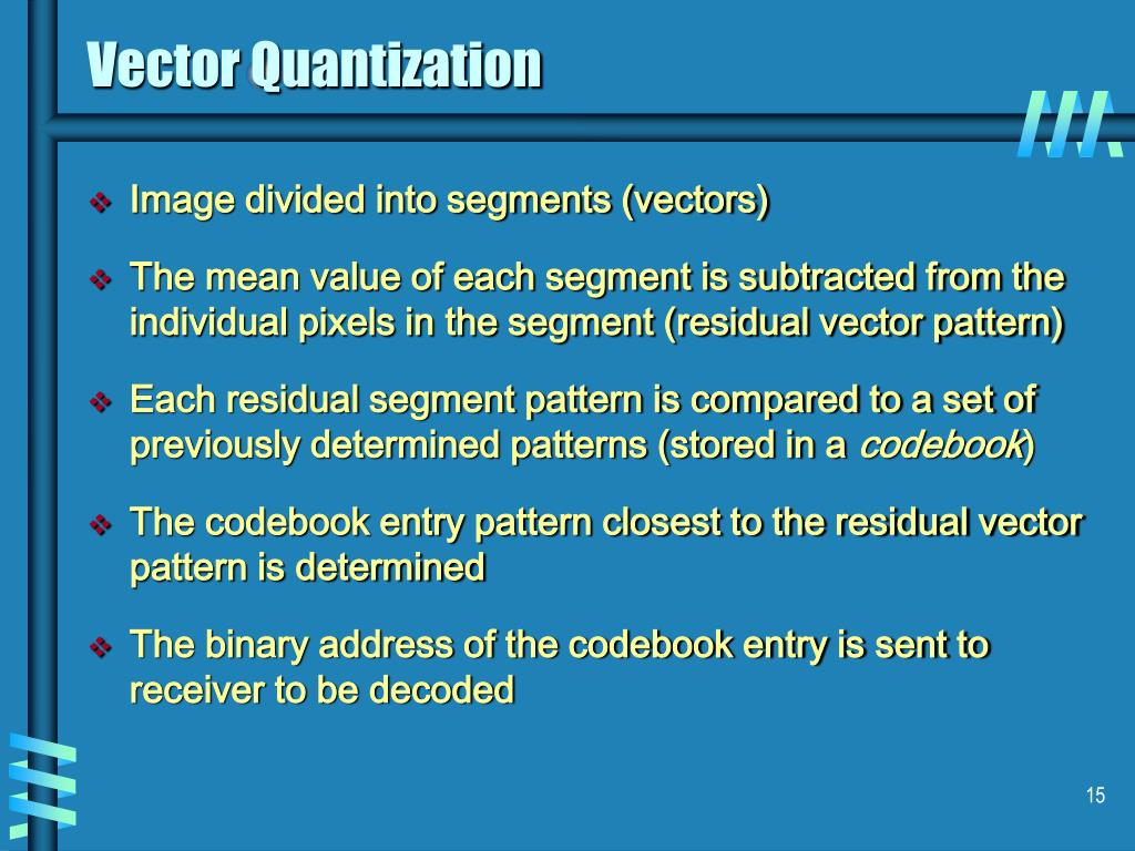 Vector Quantization