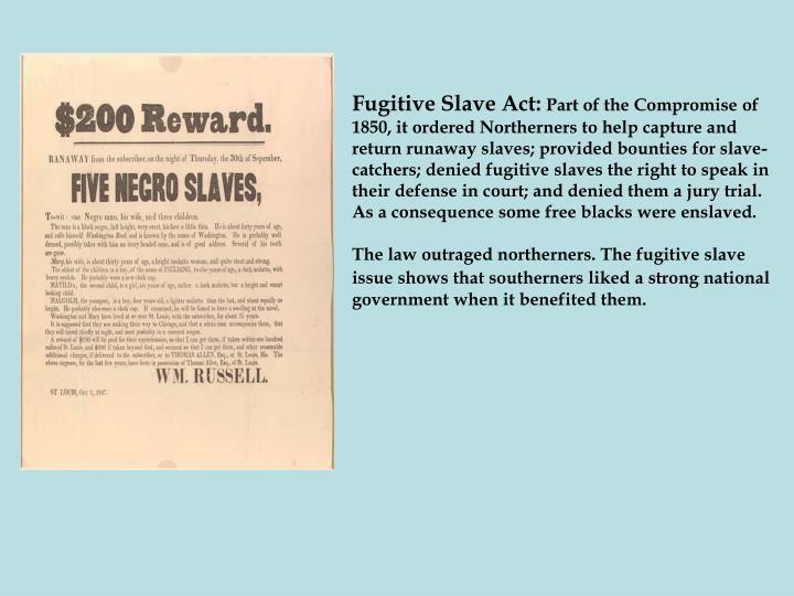 Fugitive Slave Act: